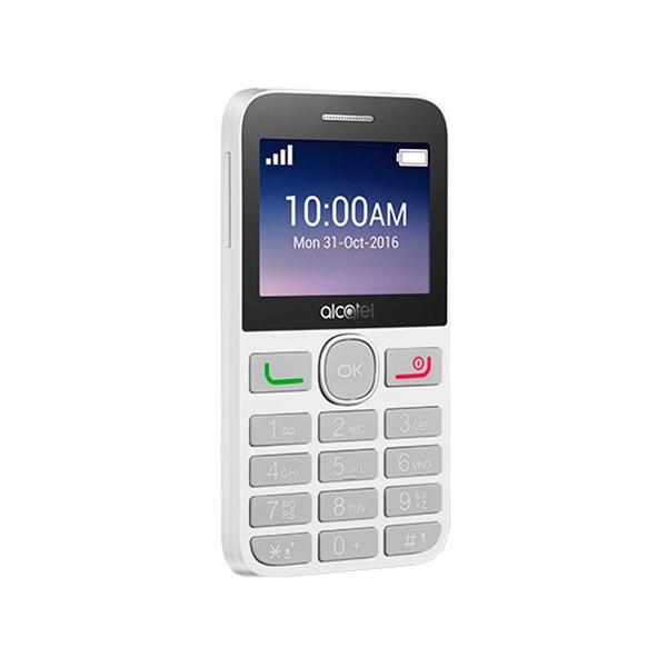 Alcatel 2008g blanco móvil 2g / teclado numérico / 2.4'' / 16mb / 8 mb ram / 2mp