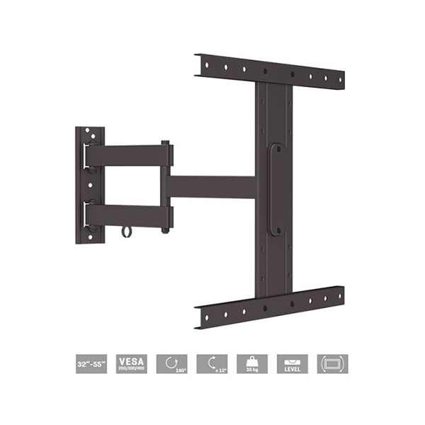 Fonestar stv-684n  soporte orientable de pared para tv de 32'' a 55'' 35kg vesa 400x400