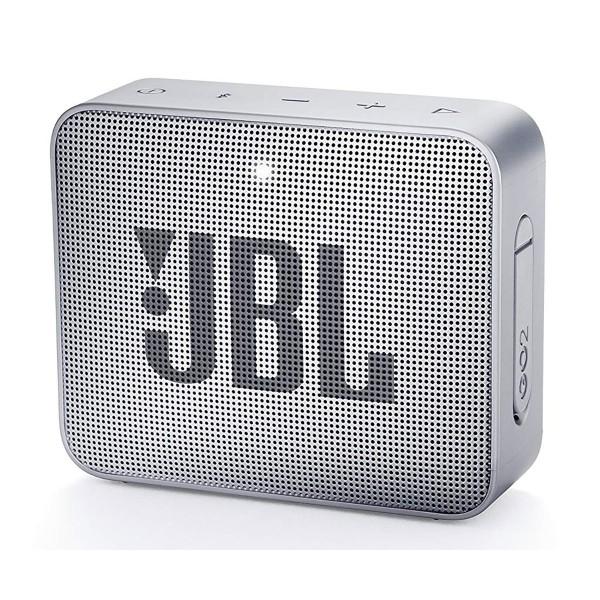 Jbl go2 gris altavoz inalámbrico portátil 3w rms bluetooth aux micrófono manos libres impermeable ipx7