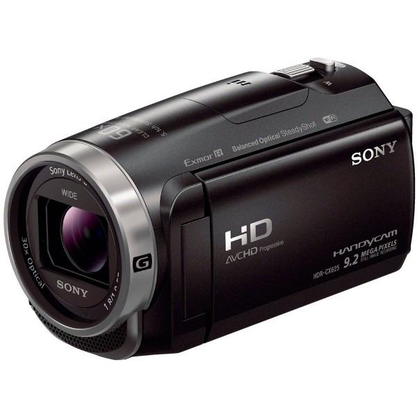 Sony hdrcx625b cámara de vídeo full hd con lente gran angular