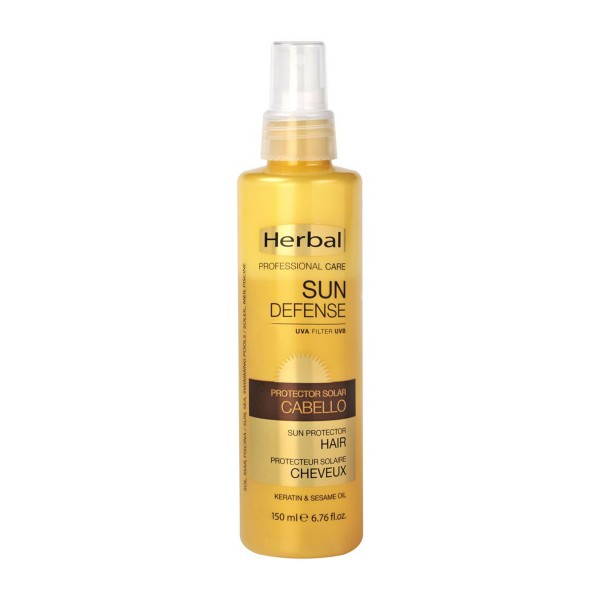Herbal hispania sun defense protector solar cabello uva filter 150ml