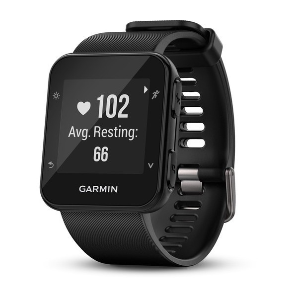 Garmin forerunner 35 negro reloj inteligente de running con gps y monitor de frecuencia cardíaca