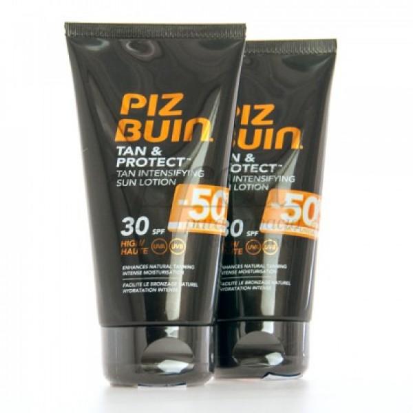 PIZ BUIN TAN PROTECT SPF30 LOCION 2X 150ML PROMO