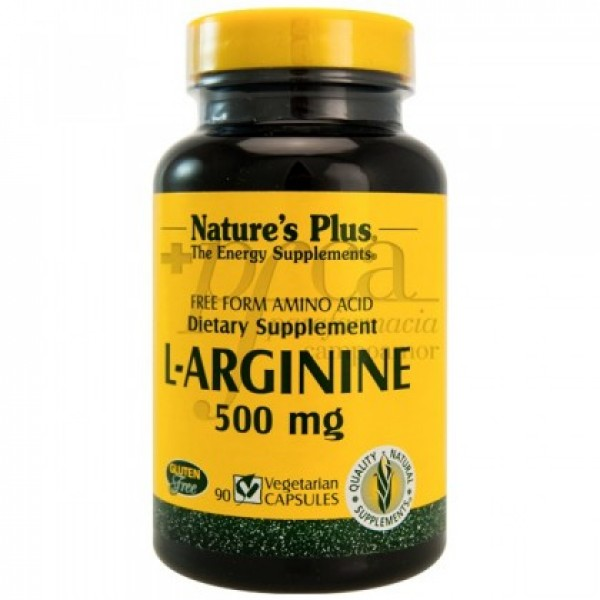 L-ARGININA 500MG 90CAPS NATUR IMPORT