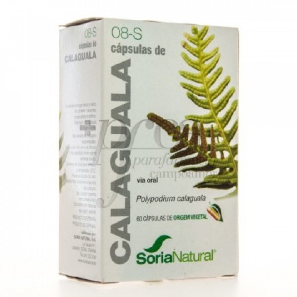 SORIA NATURAL 8-S CALAGUALA 30 CAPS
