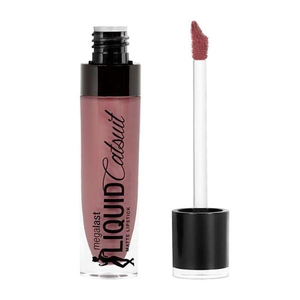 Wet'n wild megalast liquid catsuit matte lipstick rebel rose