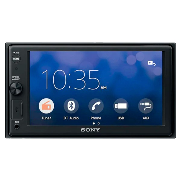 Sony xav-ax1000 receptor multimedia con pantalla de 6.2'' para el coche con bluetooth apple carplay