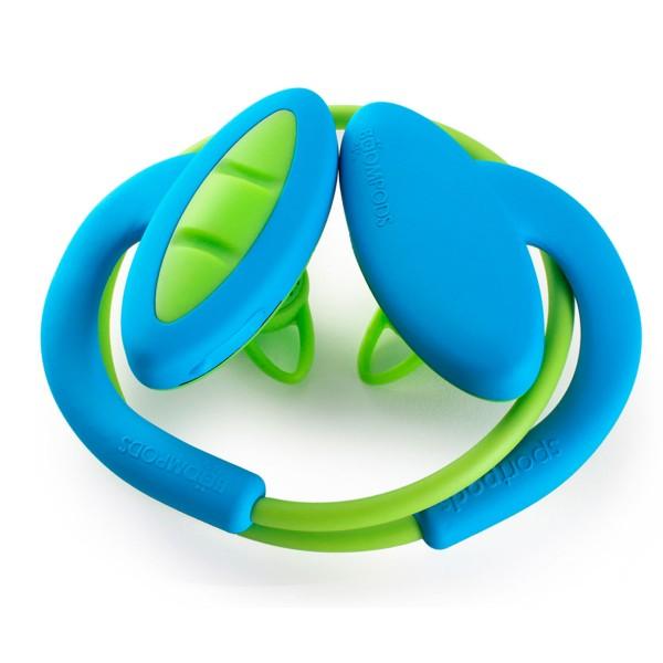 Boompods sportpods 2 azul y verde auriculares deportivos estéreo inalámbricos