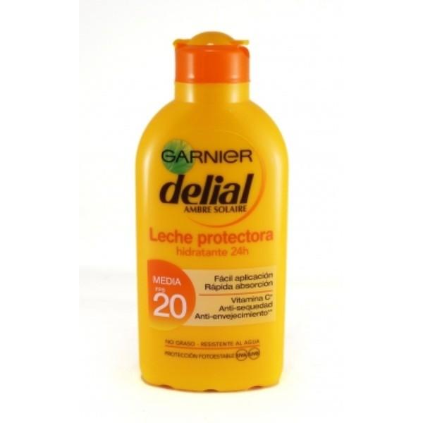 Delial Leche Protectora Hidratante SPF 20, 200 ml