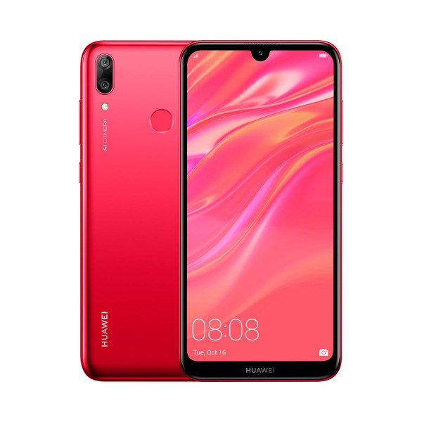 Huawei y7 2019 coral móvil 4g dual sim 6.26'' ips hd+/8core/32gb/3gb ram/13mp+2mp/8mp