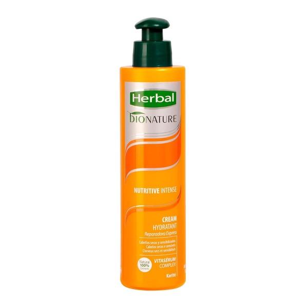 Herbal bionature nutritive intense crema hidratante reparadora express 200ml