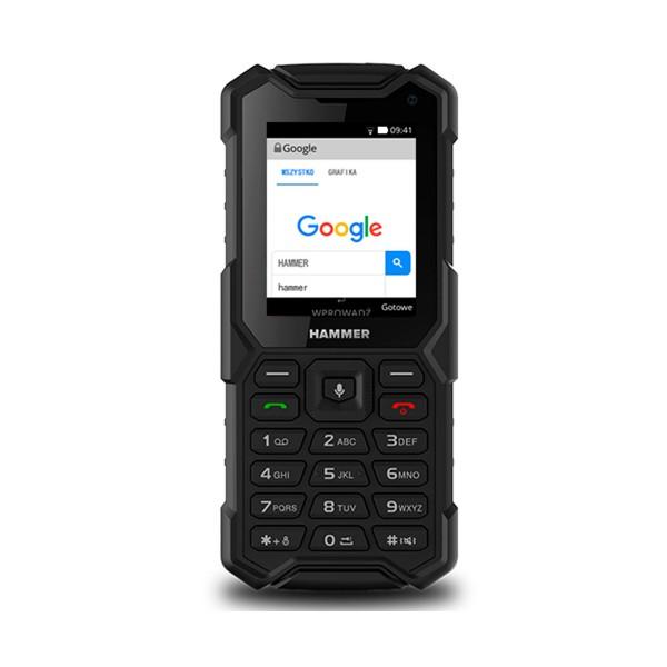 Myphone hammer 5 negro móvil 4g resistente ip68 dual sim 2.4'' tft cámara bluetooth radio fm