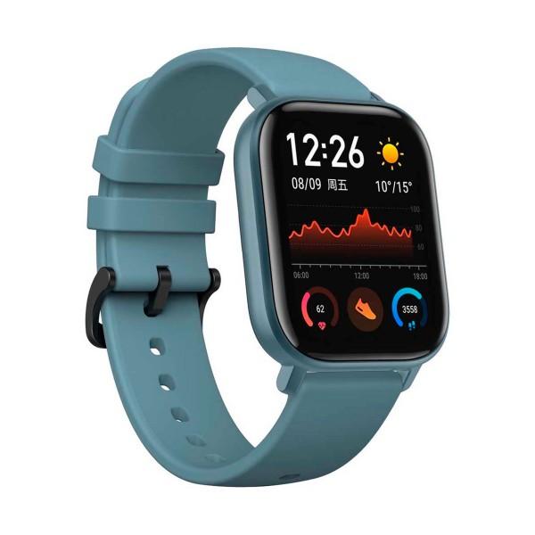 Xiaomi amazfit gts azul acero smartwatch 1.65'' amoled gps glonass bluetooth biotracker 5atm