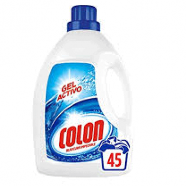 Colon detergente Gel Activo Blancura Impecable 45 lavados