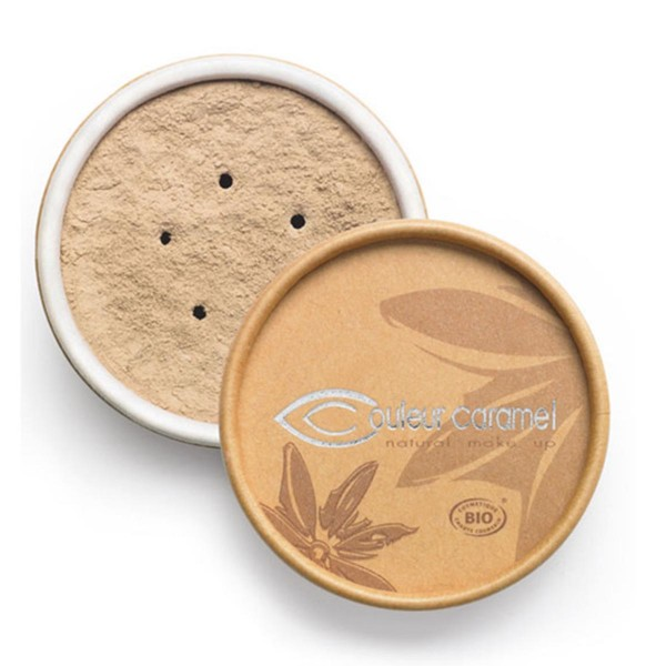 Couleur caramel bio mineral foundations polvos 11