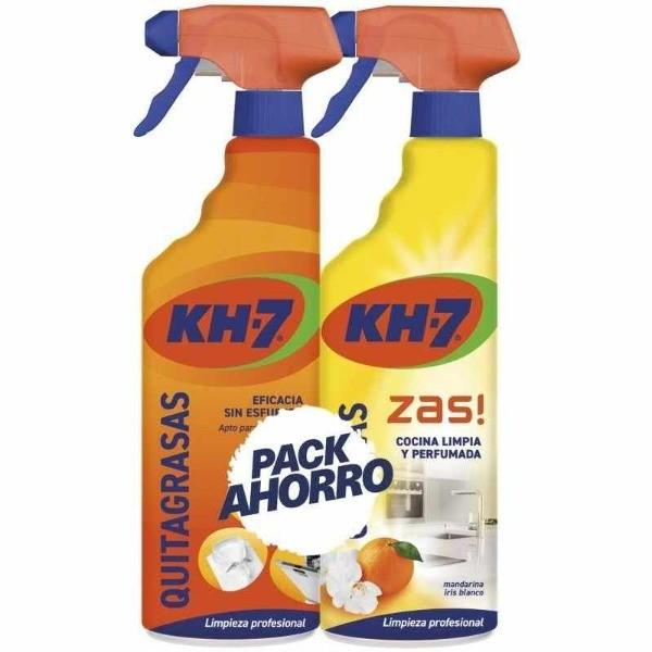 KH-7 Quitagrasas 750 ml + Zas! Cocinas 750 ml Pack Ahorro