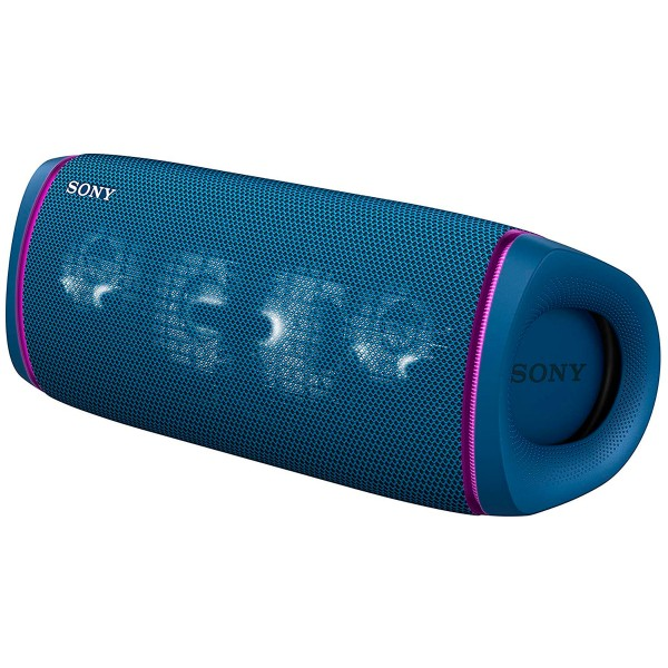 Sony srs-xb43 azul altavoz inalámbrico bluetooth manos libres extra bass live ip67 luces de fiesta