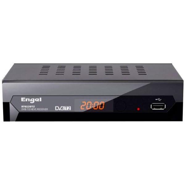 Engel rt6120t2 dvbt2 hd sintonizador tdt grabación pvr full hd timeshift hdmi scart