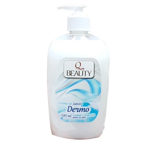 Q Beauty jabón de manos Dermo 500 ml