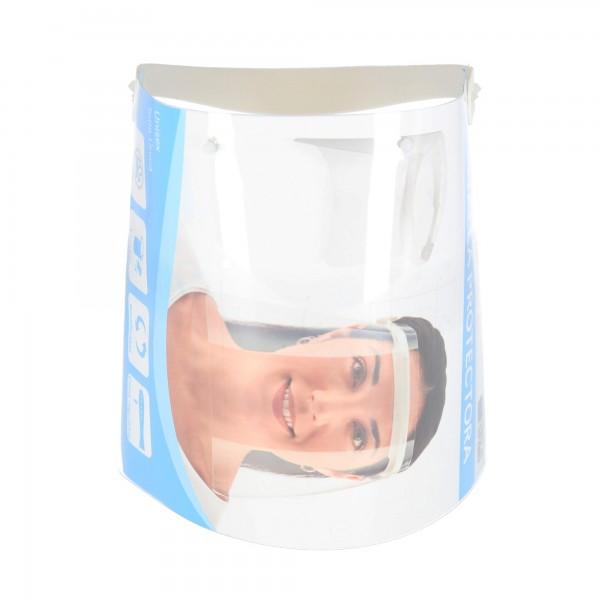 Protector facial polipropileno 5 unidades