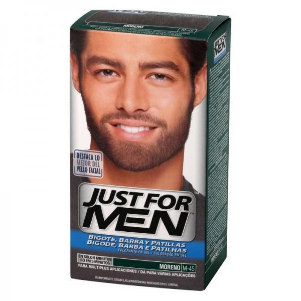 JUST FOR MEN BIGOTE Y BARBA MORENO M-45