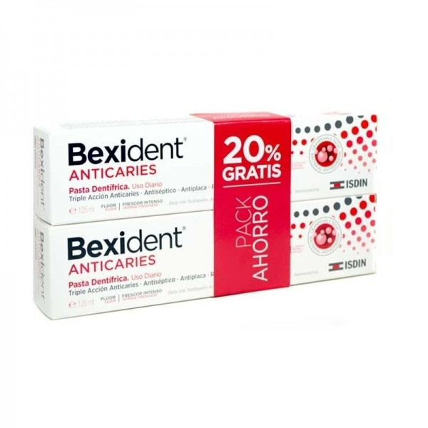 BEXIDENT ANTICARIES PASTA 2X 125 ML PROMO