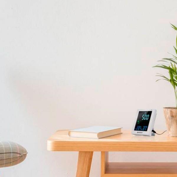 Bresser monitor co2 y calidad del aire blanco