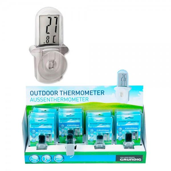 Termometro exterior digital con ventosa