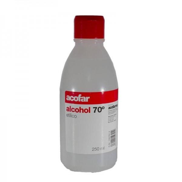 ALCOHOL 70º ACOFAR 250ML
