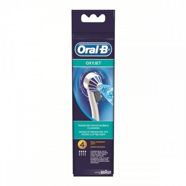 ORAL-B  4 RECAMBIOS  IRRIGADOR OXYJET