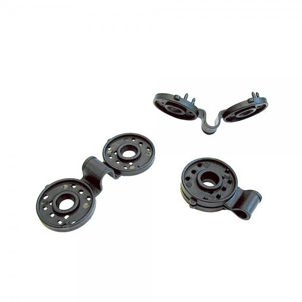 Clips de fijación para cercas fixatex 100,2x43mm nortene