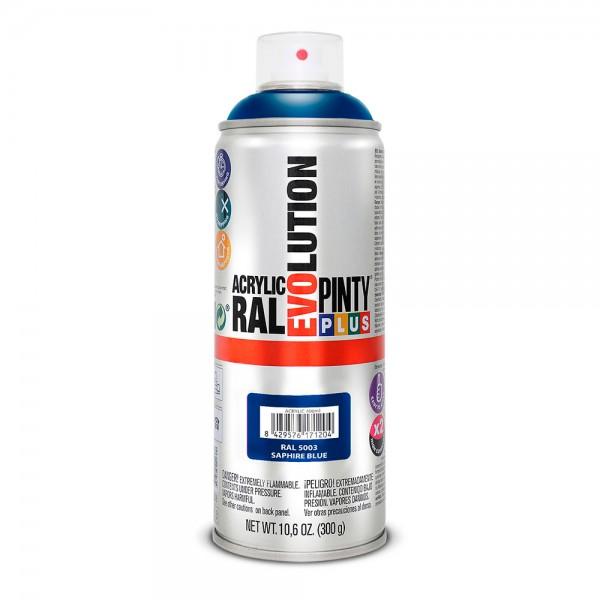 Pintura en spray pintyplus evolution 520cc ral 5003 azul zafiro