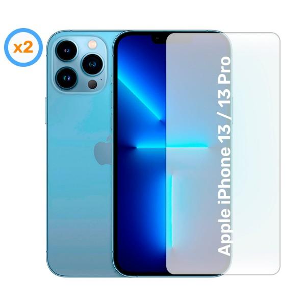 Akashi cristal protector (x2) para apple iphone 13 / 13 pro